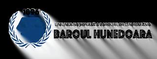 Baroul Hunedoara Logo